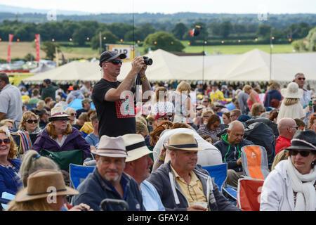 Bolesworth Carfest, Nord, Cheshire, Royaume-Uni. 30 juillet 2016. L'événement est l'invention de Chris Evans et Banque D'Images
