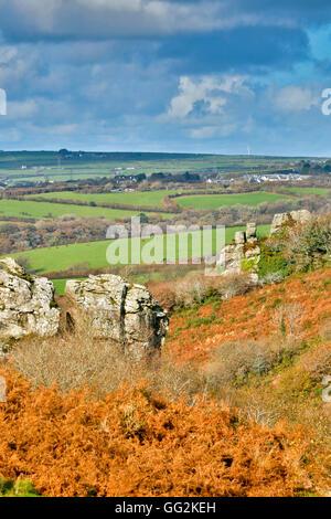 Devil's Leap; Bodmin Moor, Cornwall, UK Banque D'Images