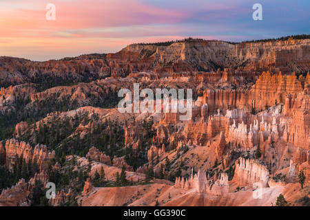 Amphithéâtre, Bryce Canyon National Park, Utah, USA