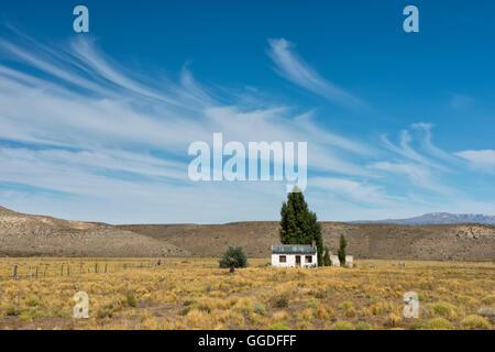 L'Amérique du Sud, Argentine, Chubut, Patagonie, chambre dans la Pampa Banque D'Images