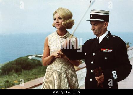 BALDUIN, DER HEIRATSMUFFEL / Le gendarme se marie FRA/1968 ITL / Jean Girault Voir mit CLAUDE GENSAC (Josepha Cruchot) Banque D'Images