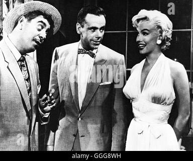 DAS VERFLIXTE 7. JAHR / les sept ans démangent USA 1955 / Billy Wilder SONNY TUFTS, TOM EWELL, MARILYN MONROE, 'Les Banque D'Images