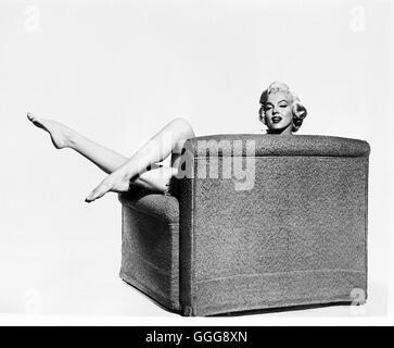 DAS VERFLIXTE 7. JAHR / les sept ans démangent USA 1955 / Billy Wilder MARILYN MONROE, 'Les sept an Itch', 1955. Banque D'Images
