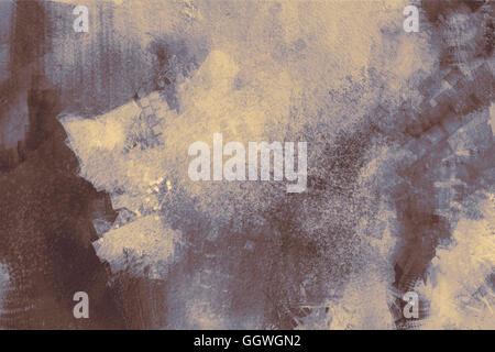 La peinture abstraite de texture background gris sur la base de peinture Banque D'Images