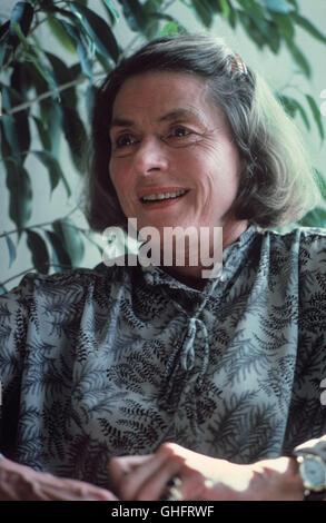 INGRID BERGMAN, actrice suédoise (Jour de naissance: 29. Août 1915 à Stockholm; Jour du décès: 29. Août 1982 à Londres), Portrait ca. 1980.