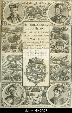 Historia general de los hechos de los castellanos en las islas i tierra firme del mar oceano (1726)