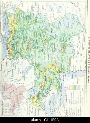 Dictionnaire géographique de la Suisse, publié sous les auspices de la Société neuchâteloise de géographie, et sous la direction de Charles Knapp, Maurice Borel, cartographe, et de C. Attinger,