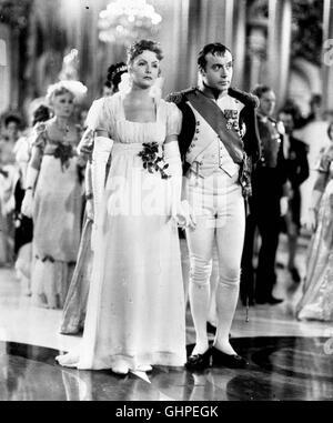 MARIA WALEWSKA Conquête USA 1937 Staatsbesuchs während eines im geteilten Polen lernt Kaiser Napoléon Bonaparte Banque D'Images