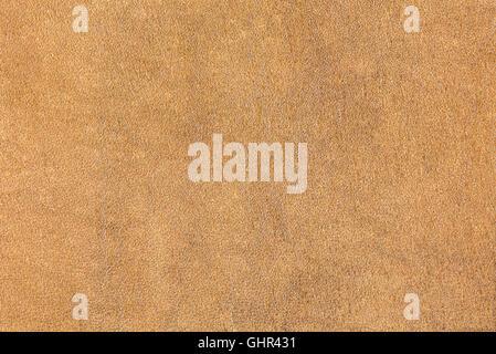 Texture de cuir brun naturel. Haute résolution. Banque D'Images