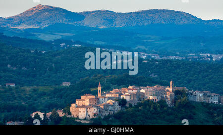 Piombino, Province de Grosseto, Toscane, Italie Banque D'Images