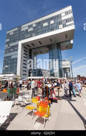 Maison de grue à Cologne, Allemagne Banque D'Images