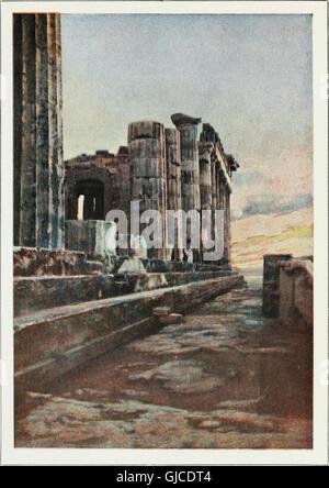 Le Burton Holmes conférences; (1901) Banque D'Images