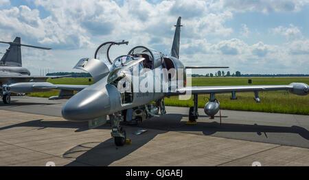Recherche avancée militaire d'avions de combat léger Aero L-159 ALCA. Czech Air Force. Banque D'Images