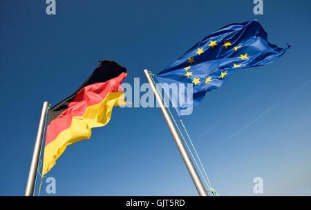 drapeaux Banque D'Images