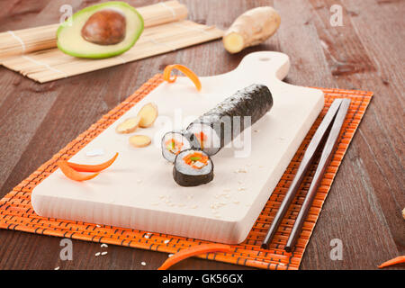 La nourriture traditionnelle aliment Banque D'Images