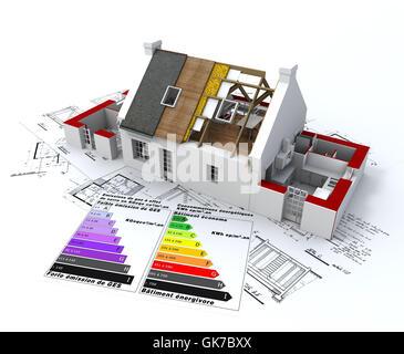 La construction d'environnement Banque D'Images
