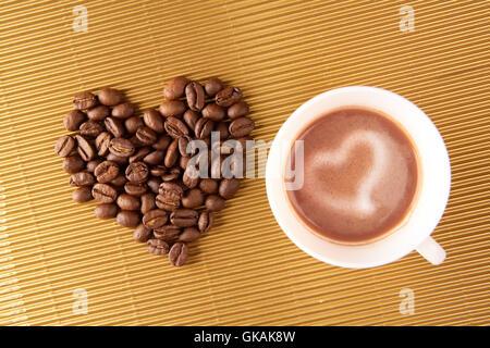 Cafe tasse symbole Banque D'Images