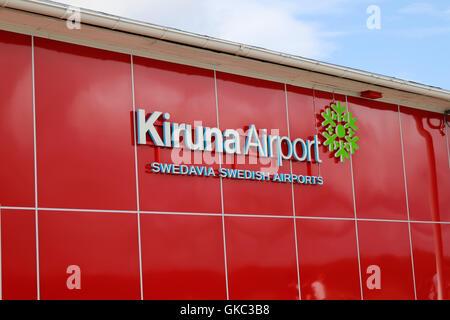 Impressionen: Flughafen Kiruna (Laponie, Schweden.