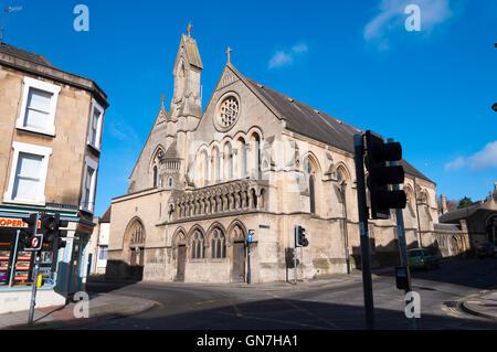 L'église Holy Trinity à Bath, Somerset, England, UK Banque D'Images