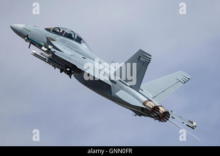 United States Navy Boeing F/A-18F Super Hornet chasseur multirôle.