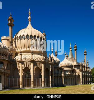 Le pavillon royal de Brighton. Banque D'Images