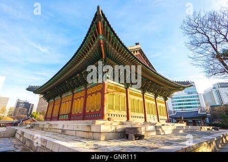 Palais Deoksugung à Séoul, Corée du Sud. Banque D'Images