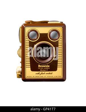Une prise d'un fort appareil photo Brownie. Banque D'Images