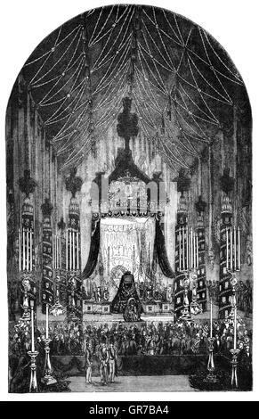 Le Maréchal Arthur Wellesley, 1er duc de Wellington, soldat et homme d'anglo-irlandais, et l'une des principales Banque D'Images