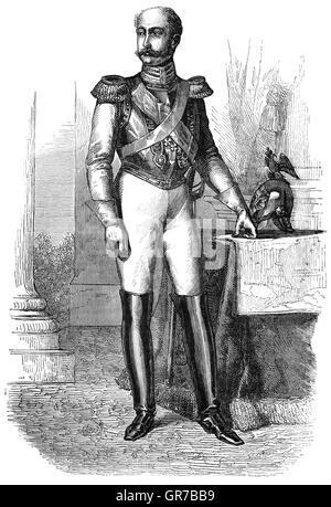 Nicolas I (1796 - 1855) était l'empereur de Russie à partir de 1825 jusqu'à sa mort. Il est surtout connu comme Banque D'Images