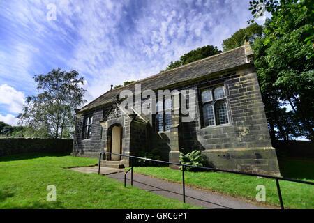 Bullhouse Chapelle, près de Penistone, South Yorkshire, UK.