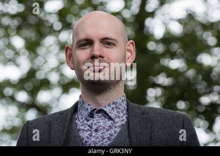 Professeur de politique et auteur Malcolm Harvey. Banque D'Images