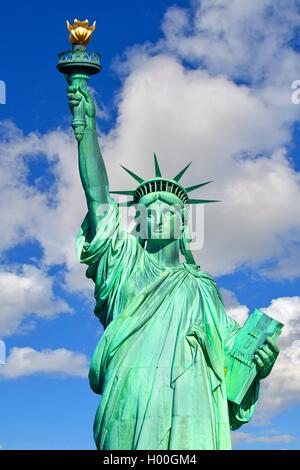 Statue de la liberté à Manhattan, New York City, USA Banque D'Images
