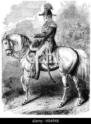Le général Sir James Simpson (1792 - 1868), qui ont combattu dans la guerre de la péninsule était un officier de Banque D'Images