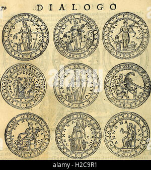 Dialoghi di don Antonio Agostini archivescovo di Taracona, intorno alle medaglie, inscrittioni, et altre antichità (1625) (1