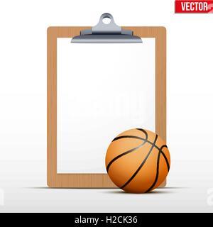 Presse-papiers vierges Coaching Banque D'Images