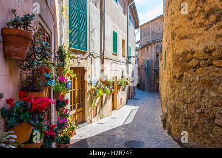 Rue de l'usine à Valldemossa, Majorque