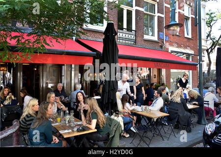 Restaurant français La Brasserie Van Dam Cornelis Schuytstraat Néerlandais Pays-Bas Amsterdam Oud Zuid
