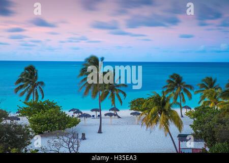 Playa Esmeralda, Holguín, Cuba, Antilles, Caraïbes Banque D'Images