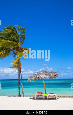 Playa Guardalvaca, Holguín, Cuba, Antilles, Caraïbes Banque D'Images