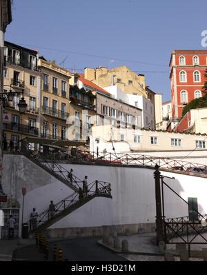 Par Buidlings Calcada do Duque de Bairro Alto Lisbonne Portugal Banque D'Images