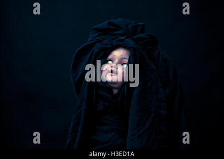 Creepy doll Banque D'Images