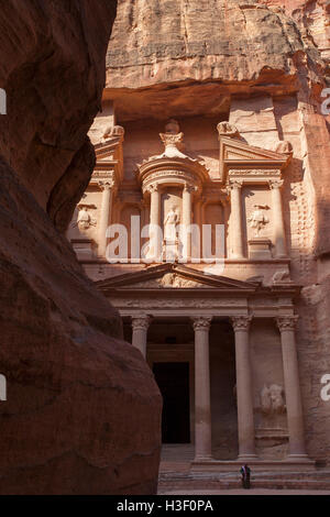 "Al Khazneh (""le Trésor""). Petra, Jordanie. Banque D'Images"