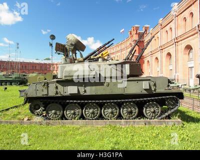 ZSU-23-4 Shilka, ЗСУ Шилка-23-4, Artillery Museum, Saint-Pétersbourg pic2