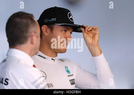 Suzuka, au Japon. 8 octobre 2016. Nico Rosberg (GER) F1: Grand Prix du Japon à Suzuka Circuit dans Suzuka, Japon . Credit: Sho Tamura/AFLO SPORT/Alamy Live News