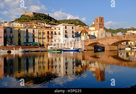 Bosa, Sardaigne, Italie