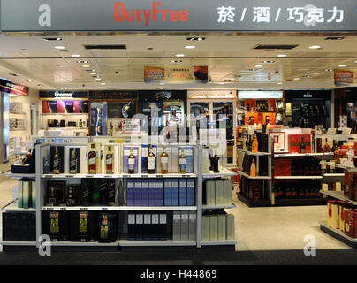 L'aéroport, une boutique hors taxes, Tao Yuan, Taipeh, Taiwan, Banque D'Images
