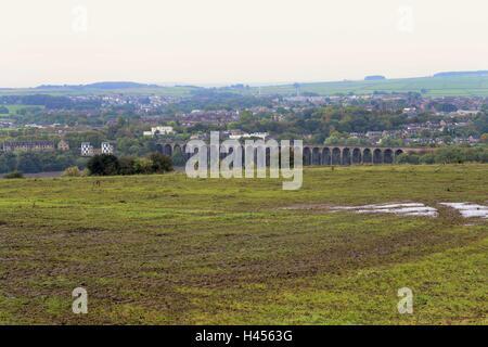 Viaduc de Penistone près de Barnsley, South Yorkshire, UK.
