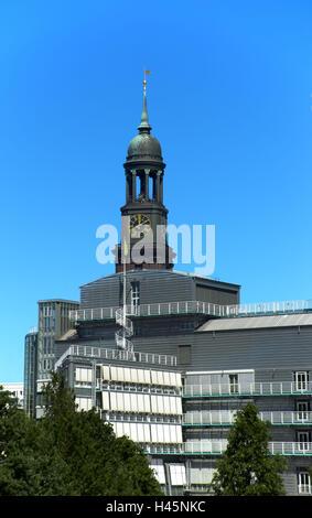 Allemagne, Hambourg, église St Michel, Banque D'Images