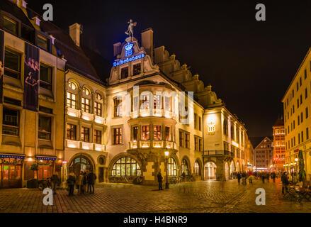 Allemagne, Berlin, Munich, Lehel, Platzl Hofbräuhaus, Banque D'Images