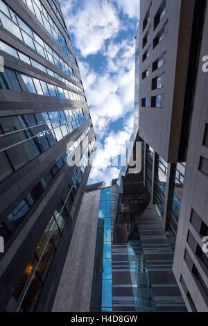 L'architecture, vue de l'intérieur, de l'université, Saxon, Leipzig, Germany, Europe Banque D'Images